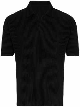 Homme Plisse Issey Miyake плиссированная рубашка-поло HP06JM030