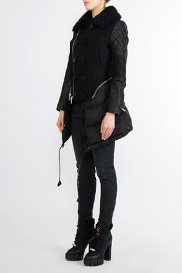 Комбинированная куртка сложного кроя Dsquared2 1706180774