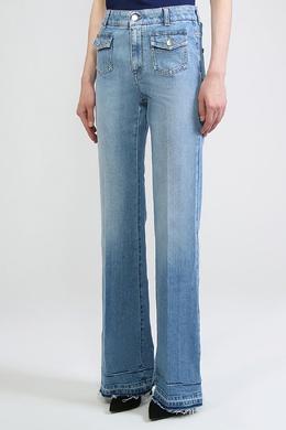 Голубые расклешенные джинсы Stella McCartney 193180967