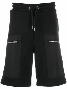 Les Hommes спортивные шорты с контрастными карманами LIJ502753N