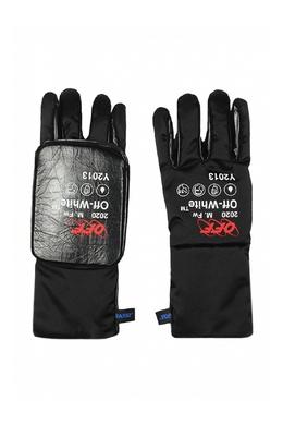 Черные комбинированные перчатки Off-White 2202181236
