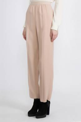 Розовые брюки со стрелками Agnona 2540180408