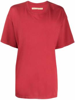 Raquel Allegra футболка свободного кроя с короткими рукавами Z974028