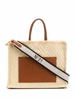 No. 21 плетеная сумка-тоут 20EBM0208CJ00