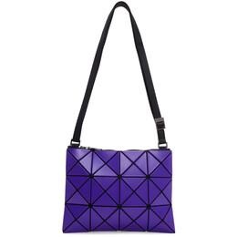 Bao Bao Issey Miyake Blue Small Matte Lucent Crossbody Bag BB06AG676