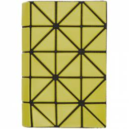 Bao Bao Issey Miyake Green Book Wallet BB06AG781