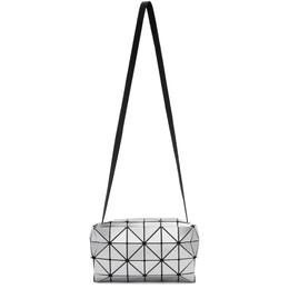 Bao Bao Issey Miyake Silver Carton Messenger Bag BB06AG422