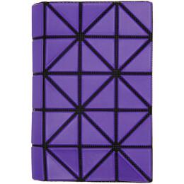 Bao Bao Issey Miyake Purple Book Wallet BB06AG781