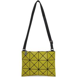 Bao Bao Issey Miyake Yellow Small Matte Lucent Crossbody Bag BB06AG676