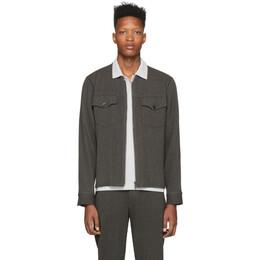 Homme Plisse Issey Miyake Grey Wool-Like Jacket HP06FC004