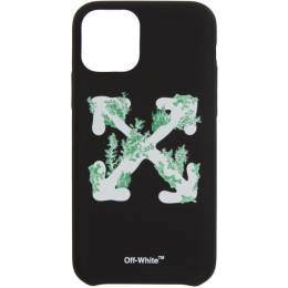 Off-White Black Corals iPhone 11 Pro Case OWPA012R20F140391001