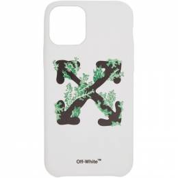 Off-White White Corals iPhone 11 Pro Case OWPA012R20F140390110