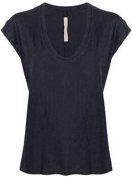 Raquel Allegra футболка с рукавами кап Z974032