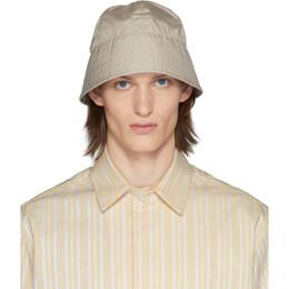 1017 Alyx 9Sm Beige Browns Edition Narrow Buckle Bucket Hat AAUHA0029FA01BEG0003