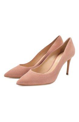 Замшевые туфли Julia Casadei 1F120D0801CAM0S3401