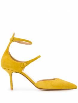 Francesco Russo туфли с ремешками и заостренным носком R1P602201