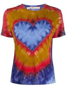 Raquel Allegra футболка с принтом тай-дай Z974033HTD