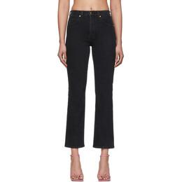 Khaite Black Vivian Jeans 1033-036