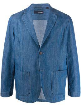 Lardini джинсовый пиджак строгого кроя EIAMEIC1219