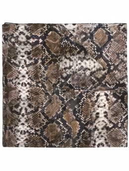 Preen By Thornton Bregazzi платок со змеиным принтом 020803
