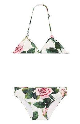 Раздельный купальник Dolce&Gabbana L5J815/FSGR0/2-6