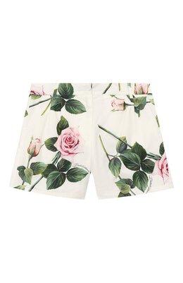 Хлопковые шорты Dolce&Gabbana L52Q24/HS5GG/8-14