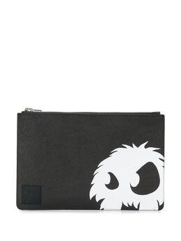 MCQ by Alexander McQueen клатч с графичным принтом 596217