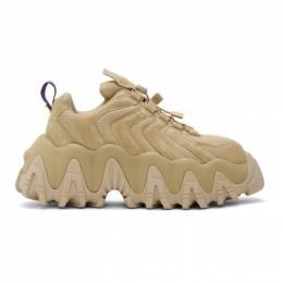 Eytys Tan Suede Halo Sneakers HASD