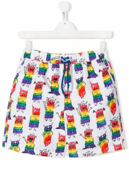 Stella McCartney Kids плавки-шорты с принтом 588600SOK26