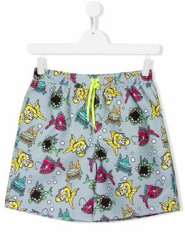 Stella McCartney Kids плавки-шорты с принтом 588598SOK23