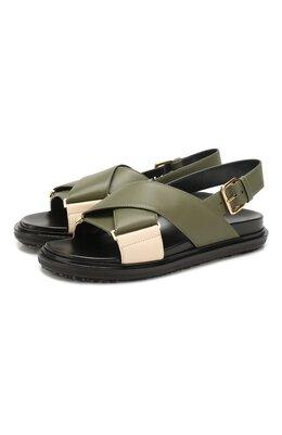 Кожаные сандалии Marni FBMS005201/LV817