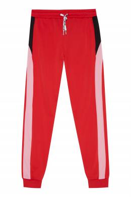 Красные спортивные брюки MSGM 296181641