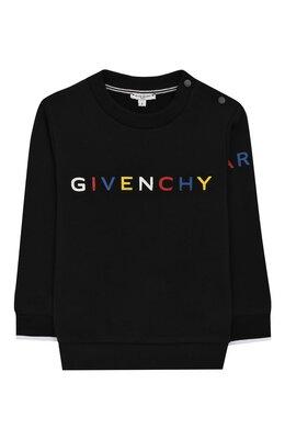 Хлопковый свитшот Givenchy H05112