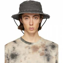 Diesel Red Tag Black A-Cold-Wall* Edition Denim Bucket Hat ACW-CAP01-CAPPELLO