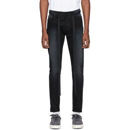 Fear Of God Black Slim Canvas Jeans 6H19-5009-CNV