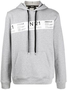 No. 21 худи с логотипом 20EN1M0E0514214