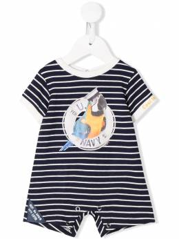 Lapin House short sleeve sailor parrot romper 201E5249