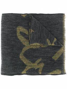 Paul Smith трикотажный шарф M1A881EAS6576