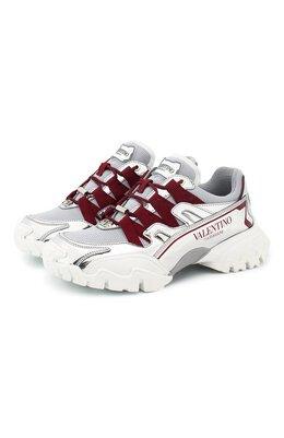 Комбинированные кроссовки Valentino Garavani Climbers Valentino TW2S0U78/JIE