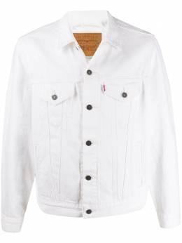 Levi's джинсовая куртка с карманами 77380