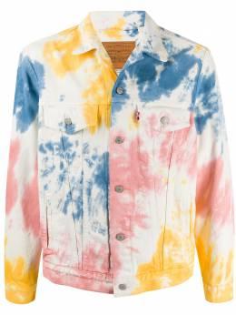 Levi's джинсовая куртка с принтом тай-дай 77380