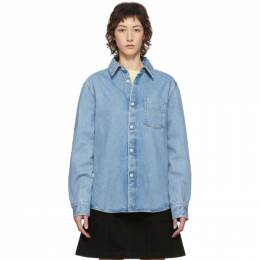 A.P.C. Blue Victor Shirt COEFE-H02400