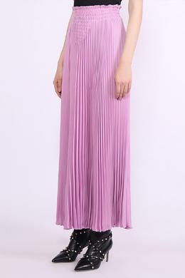 Розовая плиссированная юбка Valentino 210182254