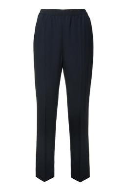 Черные брюки на поясе-резинке Agnona 2540182755