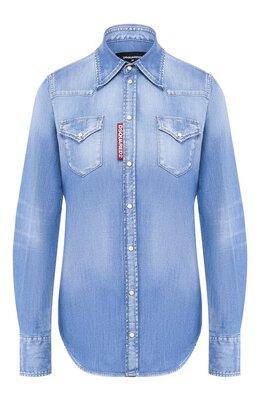 Джинсовая рубашка Dsquared2 S75DL0715/S30341