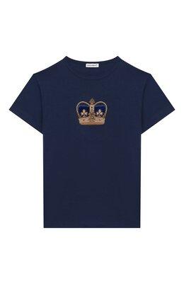 Хлопковая футболка Dolce & Gabbana L4JT6S/G7VJS/2-6