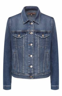 Джинсовые куртки 7 For All Mankind JSCM1200CI