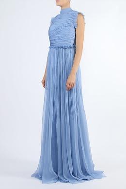 Вечернее платье голубого цвета Rochas 184182596
