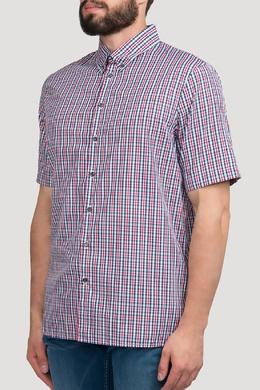 Рубашка в клетку с коротким рукавом Dsquared2 1706182602