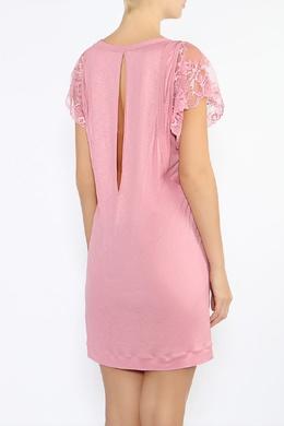 Ночная сорочка с кружевными рукавами La Perla 2363182690